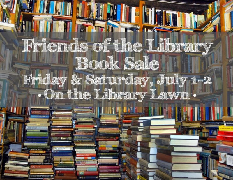 library book sale 07.01.16