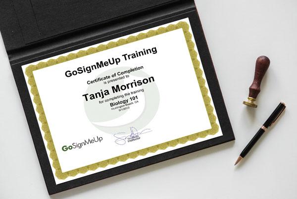 Certification - Create Custom Course Certificates