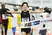 東京マラソン,藤原新