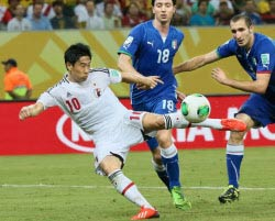 FIFA公式マン・オブ・ザ・マッチ:香川真司