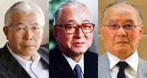 白石興二郎オーナー|渡辺恒雄球団会長|長嶋茂雄終身名誉監督