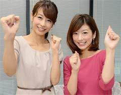 加藤綾子&生野陽子