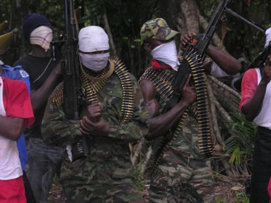 Niger Delta Avengers Militants