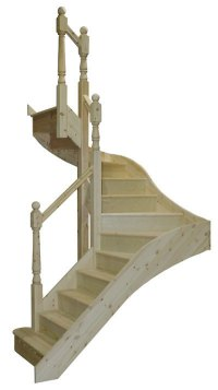 Staircases to order online 180 degree turn winder stairs