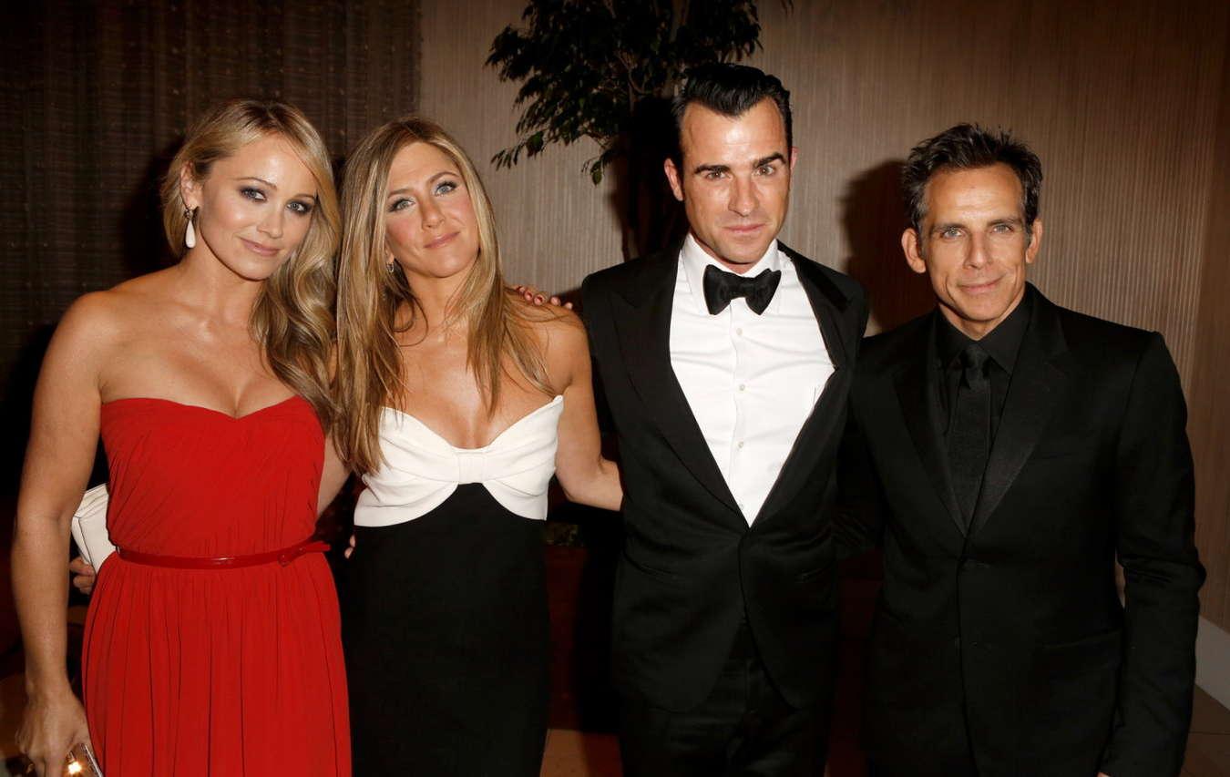 Jennifer Aniston Cute Wallpapers Christine Taylor American Cinematheque Ben Stiller
