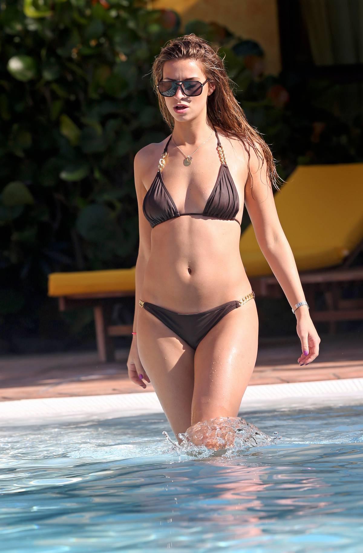 Full Body Girl Wallpaper Ferne Mccann Bikini Photos 2014 In Tenerife 20 Gotceleb