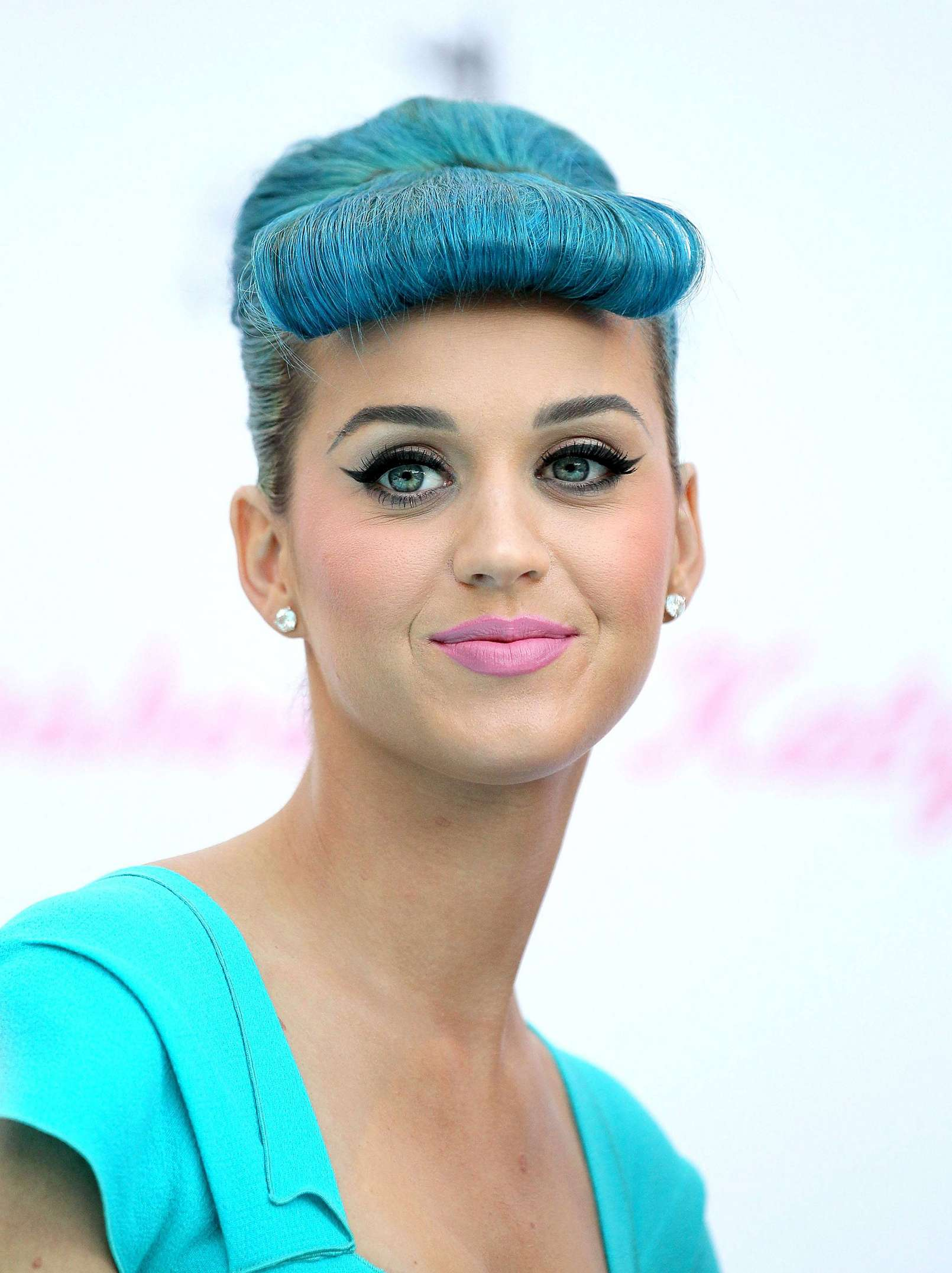 Cute Brand Wallpapers Katy Perry Rocks A Head To Toe Blue Look At The Americana