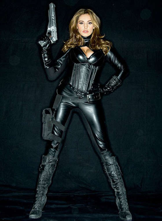Return Of The Spice Girls Wallpaper Kelly Brook Promo Poster For Heavy Metal Gotceleb