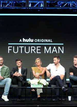 Cute Wallpapers For Summer Eliza Coupe Future Man Tv Show Panel At 2017 Tca