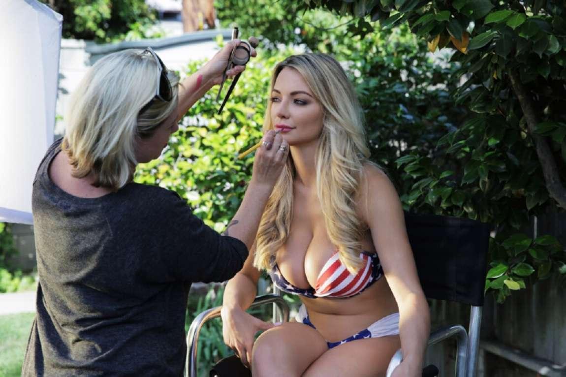 Beautiful Car Wallpaper Lindsey Pelas Bikini Photoshoot 04 Gotceleb