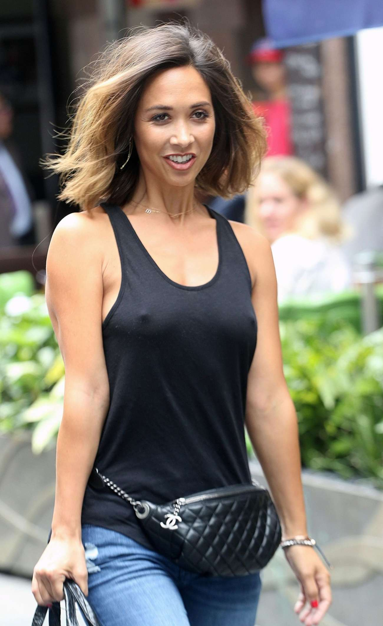 Girls Without Clothes Wallpaper Myleene Klass In Jeans 07 Gotceleb