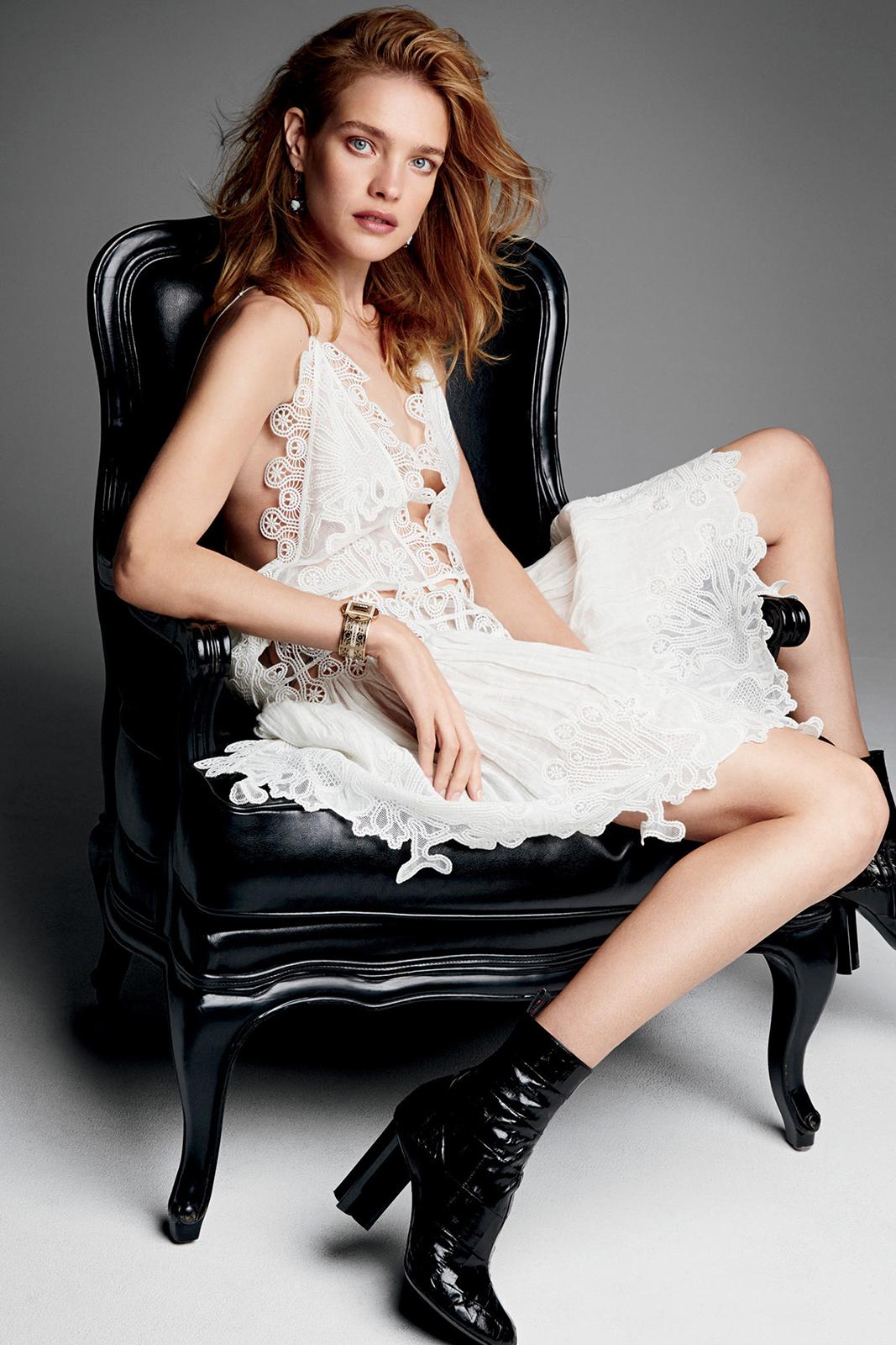Cute Ballet Wallpapers Natalia Vodianova Glamour Magazine April 2015