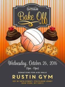 Bake off on October 26, 2016 at Rustin Gym