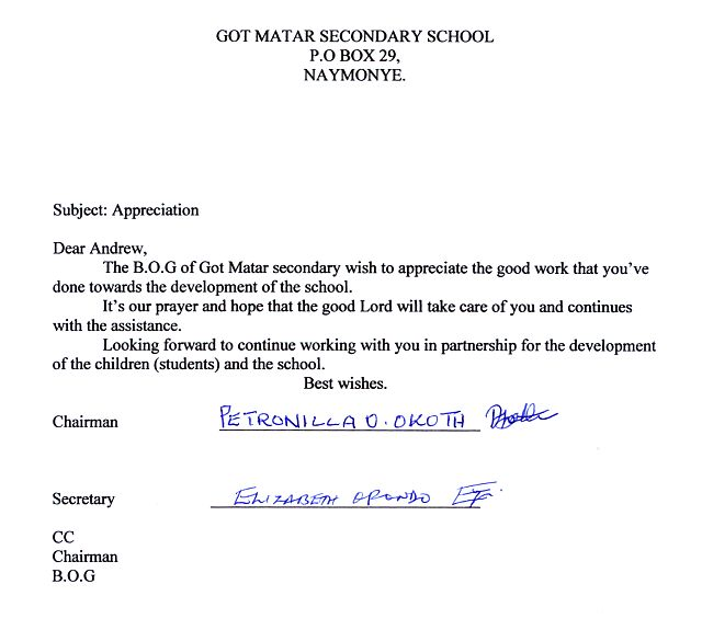 Thank You Letter For Bursary Image collections - Letter Format