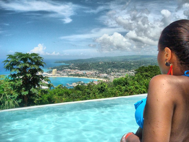 Nat at the Top of Mystic Mountain - Ocho Rios, Jamaica
