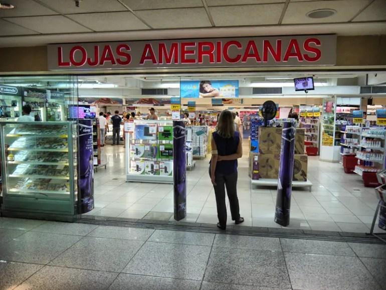 Lojas Americanas Store in Rio Sul Mall, Botafogo