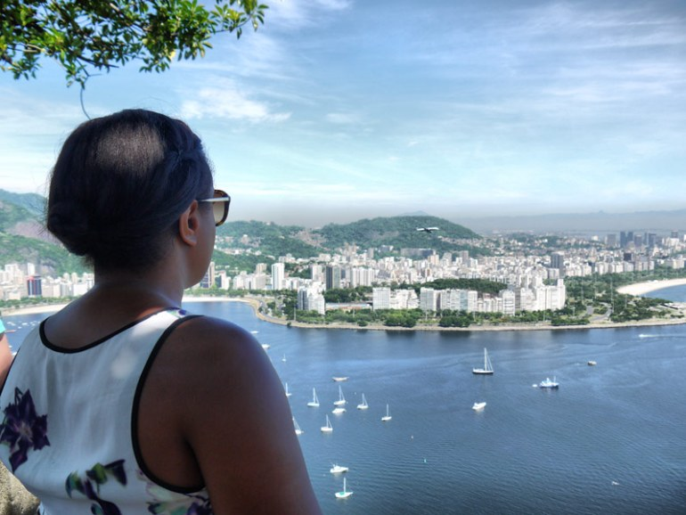 Plane-Spotting - Nat Looking Out Over Guanabara Bay