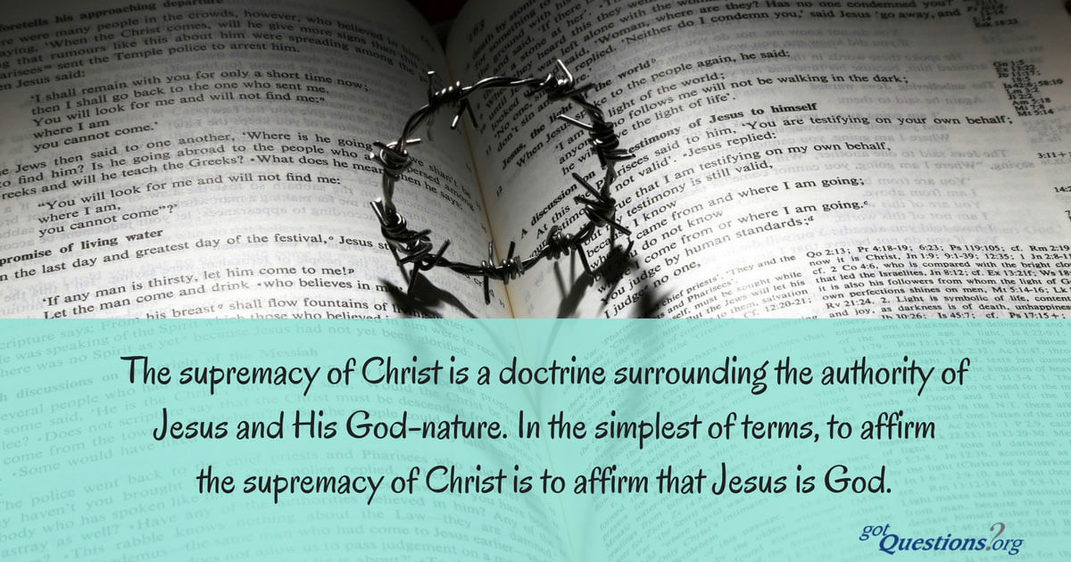 Jesus Christ Wallpapers And Quotes What Is The Supremacy Of Christ And What Are Its Implications