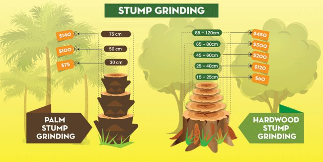 stump grinding cost