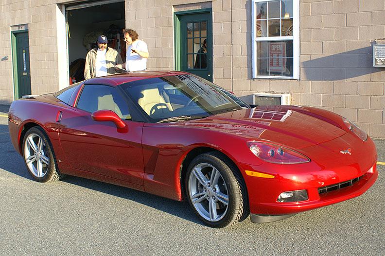 2008 Corvette Z06 Gotshade