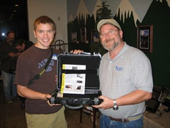 Andrew Ferguson won an Otterbox Rugged Case