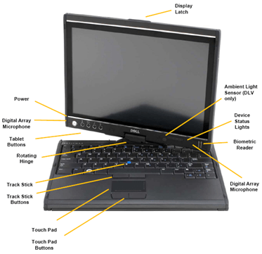 Latitude XT Tablet PC