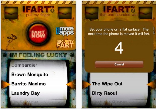 iphone prank fart app