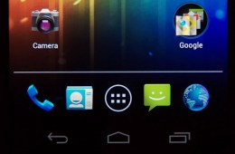 How to Customize the Galaxy Nexus Favorites Tray