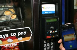 Google Wallet NFC Vending