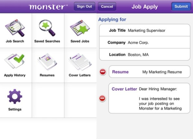 New Year's Resolution Find a Better Job App - Monster