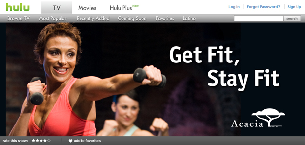 Hulu Fitness Channel