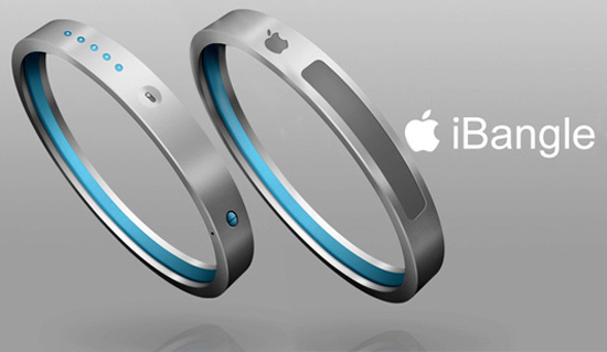 iBangle concept art by Gopinath Prasana via Yanko Designs