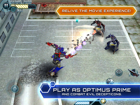 Transformers: Dark Side of the Moon HD iPad App