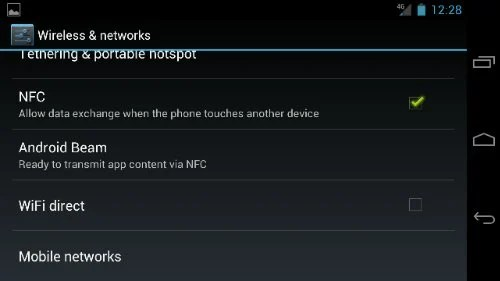 Turn off 4G LTE on Galaxy nexus Step 3