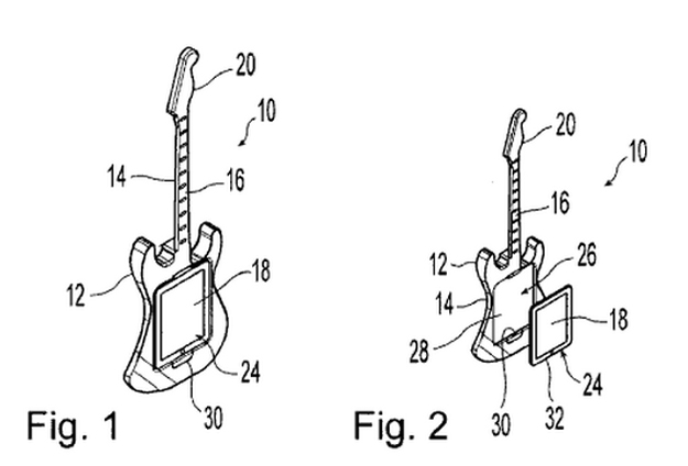 Behringer guitar tablet patent