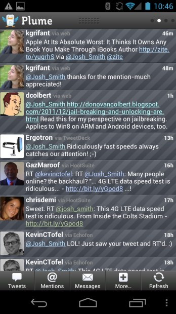 Plume Twitter app for Android
