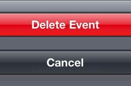 delete event on iPhone - 5
