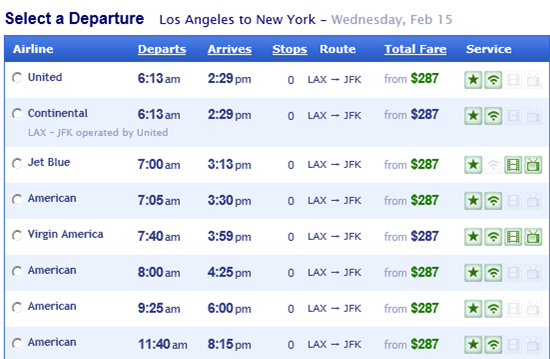 CheapAir Now Includes In-Flight Wi-Fi Availability In Search Results