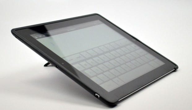 ZeroChroma iPad Case Review typing 2