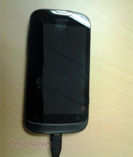 T-Mobile's New myTouch Device Poses in the Wild