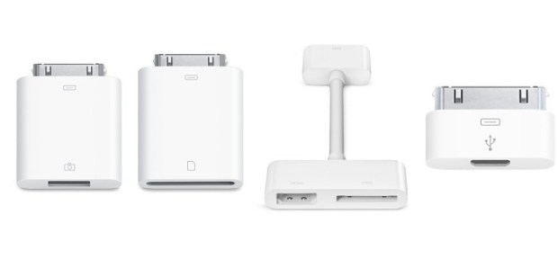 iPad 3 dock connector adapters