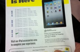 ipad at best buy following last year's day one sales model