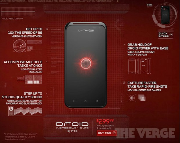 Droid Incredible 4G LTE Release Date and Rumor Roundup