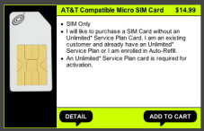Straight Talk SIM Card