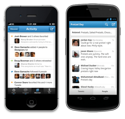 Twitter for iPhone and Android Get Updated