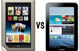 Nook Tablet vs Galaxy Tab 2 7.0