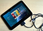 Toshiba Excite 10 LE with USB cord