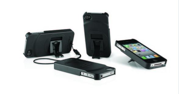 ZeroChroma Teatro S iPhone 4S case with kickstand