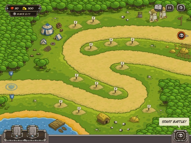 Kingdom Rush for iPad Review