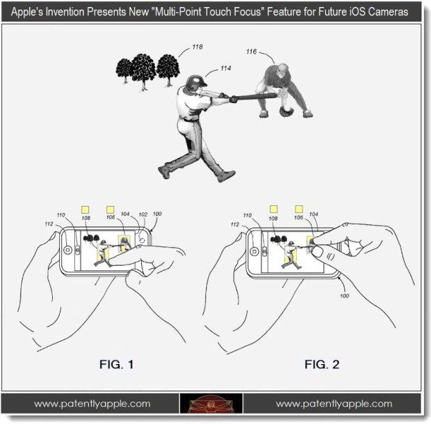 tap to focus iPhone 5